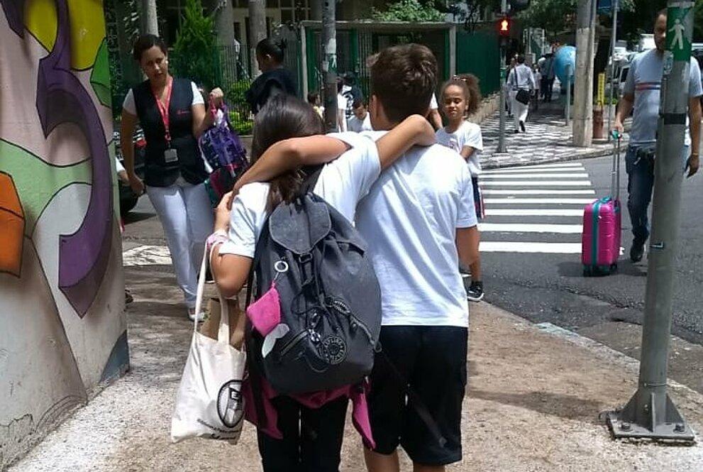 Manuela e Luiz Henrique
