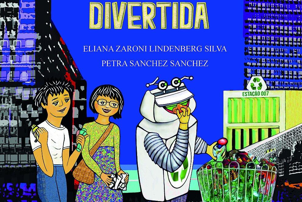 Capa do livro: Aprenda com a Reciclagem Divertida