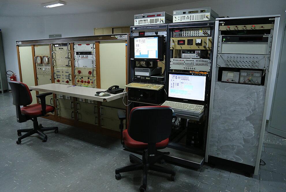 Computadores usados na observação de estrelas