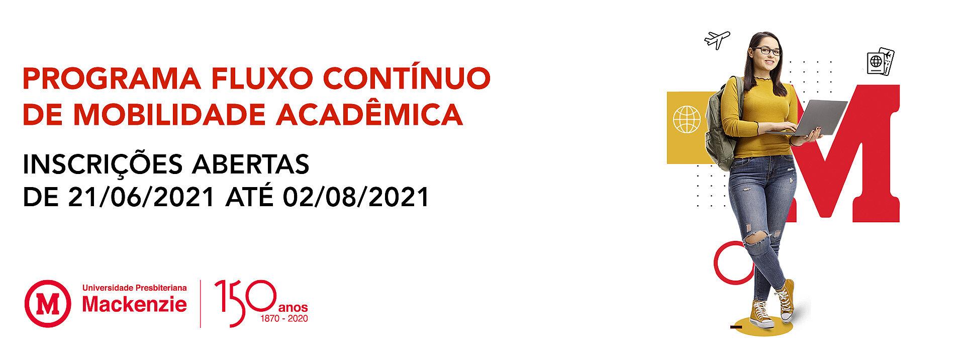 Banner do Programa de Fluxo Contínuo de Mobilidade Acadêmica