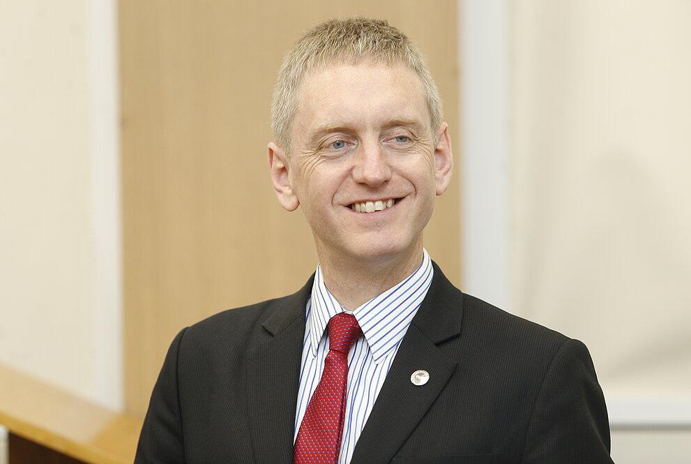 Michael Fitzpatrick, pró-reitor de Engenharia, Meio Ambiente e Computação de Coventry.