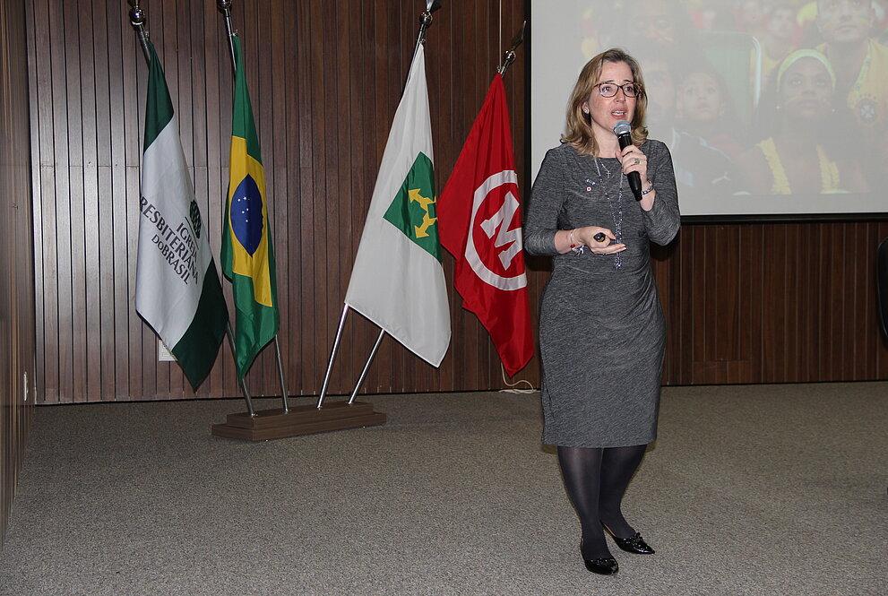 Deborah Arôxa, professora do curso de pós-graduação em Gestão de Processos em Ambientes Corporativos do Mackenzie Brasília