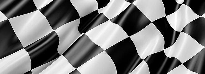 Bandeira quadriculada de corrida