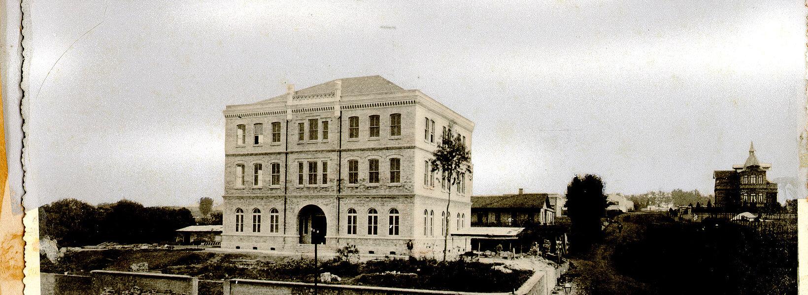 Primeiro prédio Chácara Lane - centro Histórico Mackenzie